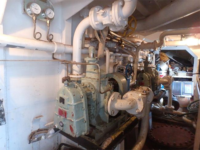 油圧モーター駆動式ギアポンプ