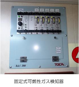 固定可燃性ガス検知器