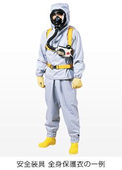 安全装具 全身保護衣の一例
