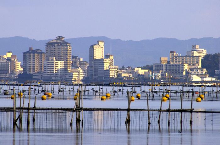 和倉温泉遠景画像提供 七尾市観光協会