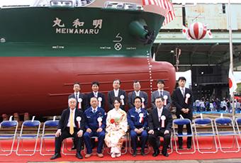 2013(平成25)年 明和丸 進水式③