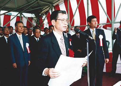 2003(平成15)年 明督丸 進水式① 川崎 保