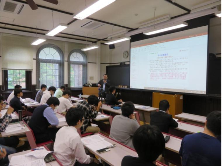 中田社長が一橋大学にて講義を行いました。
