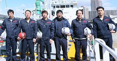 海上職の仕事